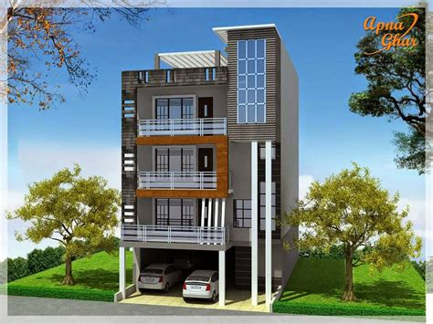 ideas about multi residential house plans free home apnaghar house design complete architectural solution