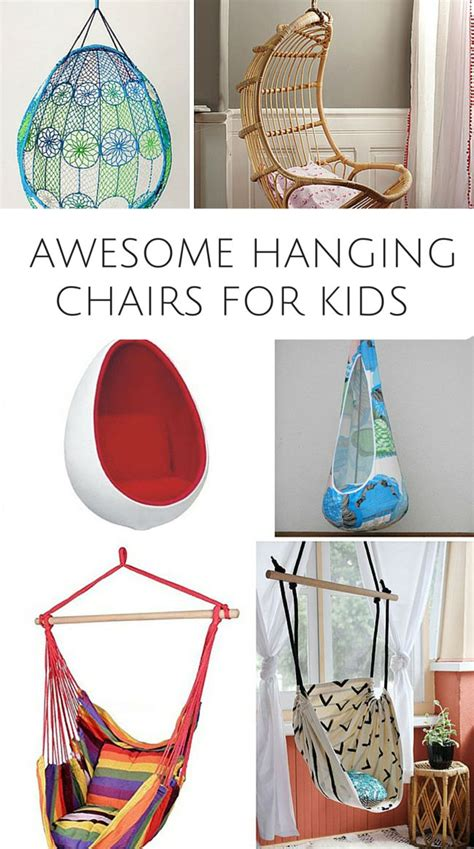 hanging chairs for bedrooms for kids 10 awesome hanging chairs for kids these are fun chairs
