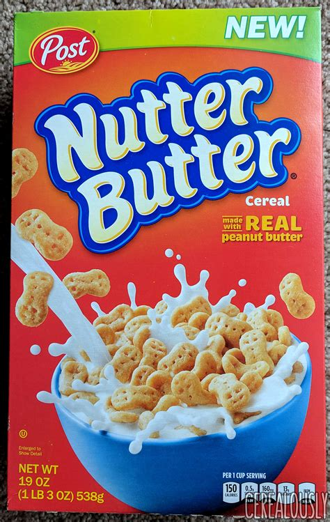 review nutter butter cereal from post