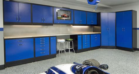 new age pro cabinets designing for an organized garage part 2 using the walls