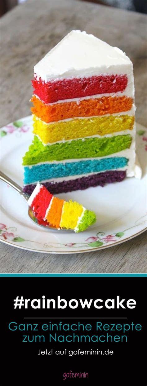 rainbow kuchen mjam mjam regenbogenkuchen jetzt auf gofeminin de