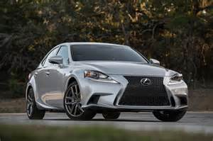 Lexus Es F Sport 2016 Lexus Is 200t Is 300 And Is 350 Japanesesportcars