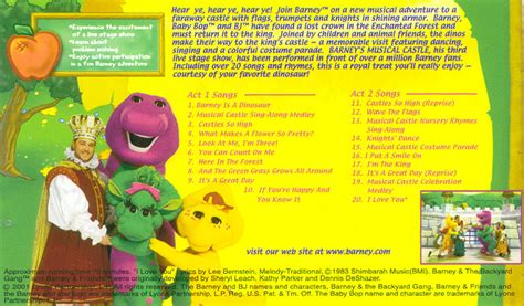 go fan high tickets barney musical castle book pictures to pin on