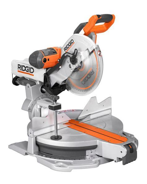ridgid 12 inch sliding compound miter saw with adjustable