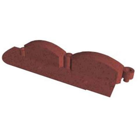 emsco  ft trim  resin red brick lawn edging hd