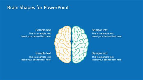 brain powerpoint template brain shapes for powerpoint