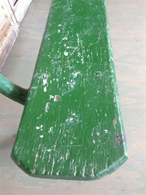 park bench green paint green painted french park bench for sale at 1stdibs