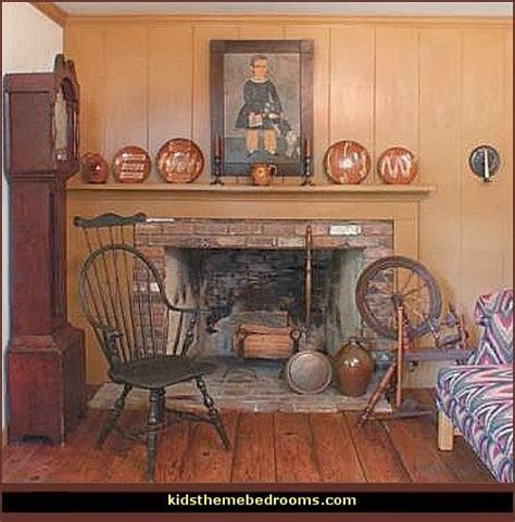 Americana Bedroom Decor by Decorating Theme Bedrooms Maries Manor Primitive