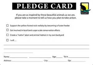Pledge Card Template For Church by Pledge Card Template For Church Best Free Home