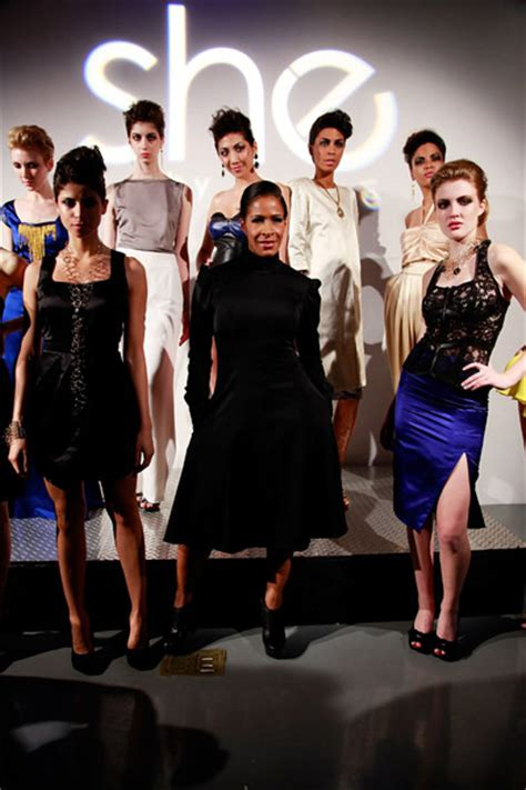 sheree whitfield finally has fashion for her fashion show the sheree whitfield blames atlanta for failure of she by
