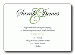 Reception Cards Template by Free Wedding Reception Invitation Templates