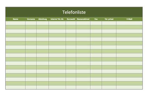Tabellenvorlage Word Telefonverzeichnis Als Excel Vorlagen Kostenlos Excel Vorlagen F 252 R Jeden Zweck