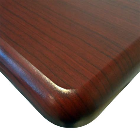 woodworking rounded corners omega everest thermodesk table top by imovr ergocanada