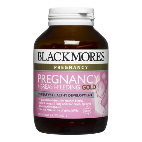 Blackmores Pregnancy And Breast Feeding Gold 120 Kapsul 2 buy pregnancy breast feeding gold 120 capsules by