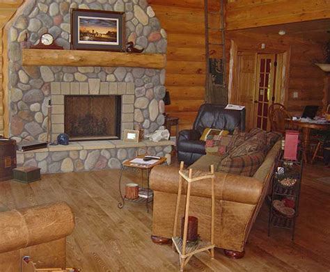 Rustic Log Cabin Plans great lakes lumber company flooring