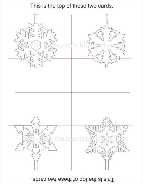 kirigami snowflake template printable 17 best images about snowflake silhouettes vectors