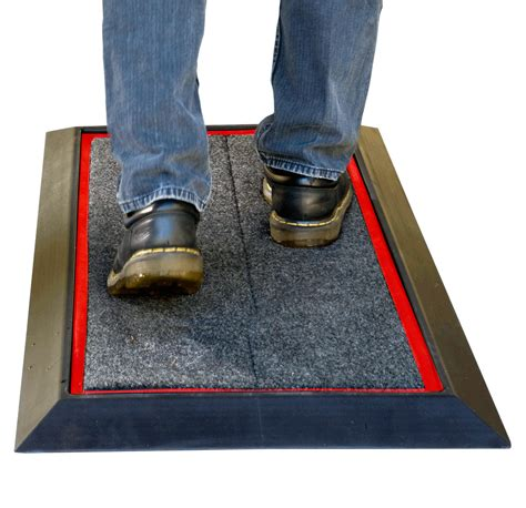 Disinfectant Shoe Mat - sanistride shoe sanitizer disinfecting mats diminish the