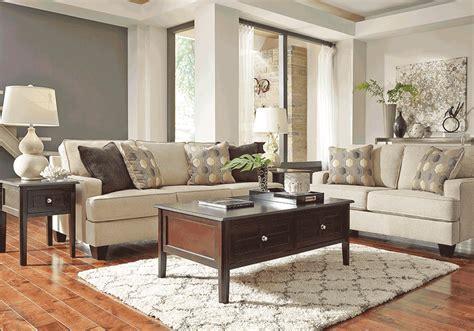 overstock living room sets brielyn linen sofa set overstock warehouse