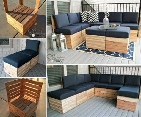 diy outdoor sectional plans 20 outdoor pallet furniture diy tutorial