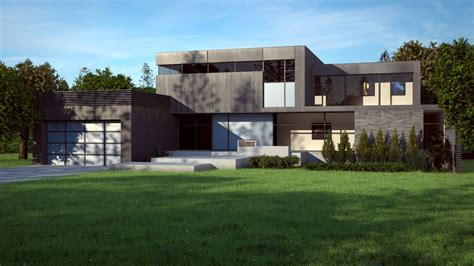 modern house cgarchitect professional 3d architectural visualization