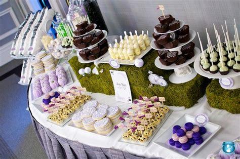 bridal shower dessert bar ideas 4 wedding shower menu ideas wedding fanatic