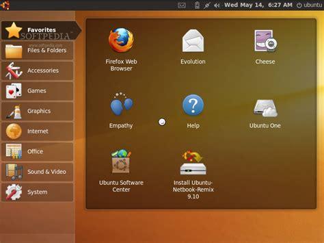 tutorial ubuntu mini remix download ubuntu netbook remix 9 10