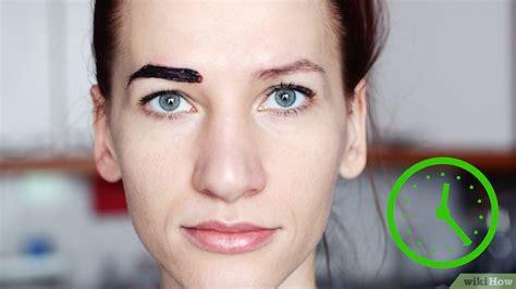 Augenbrauen Färben inspirierend haare dauerhaft f 228 rben bilder