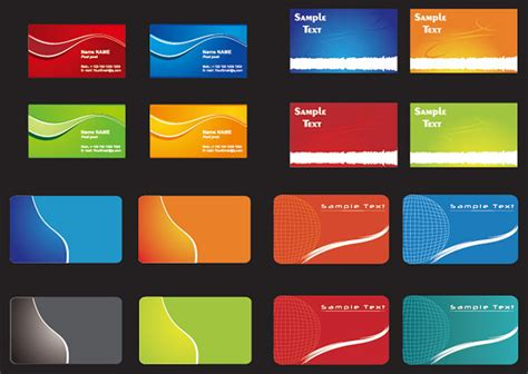 id card background design vector free download card background templates 3 vector art free vector in