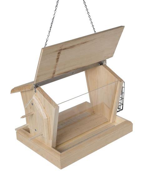 wood bird feeder unique bird feeder