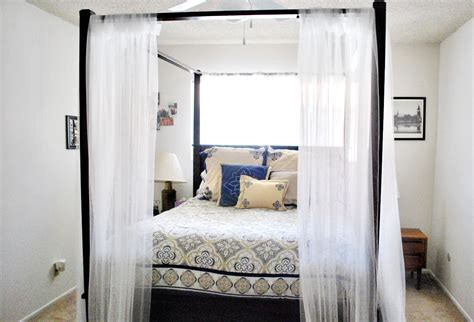 bed with curtains enhance your fours poster bed with canopy bed curtains midcityeast