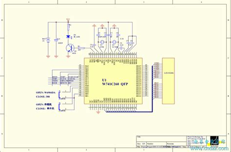 an air conditioner circuit control circuit