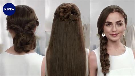 Hochzeitsfrisur Glatt by Frisuren F 252 R Glatte Haare Nivea Hair