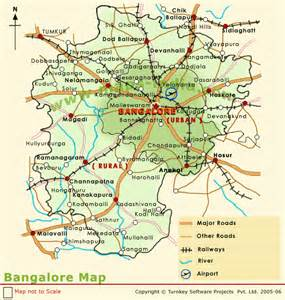 Bangalore India Map by Bangalore Map Bangalore Map India