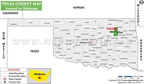 tulsa usa map tulsa county map oklahoma
