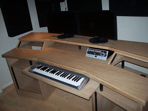 Audio Recording Desk by Custom Studio Desks Gallery Studioracks