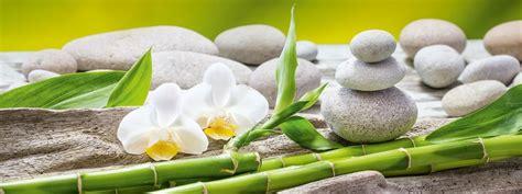 Bilder Mit Steinen Und Blumen by Glasbild Soft Green Balance Eurographics