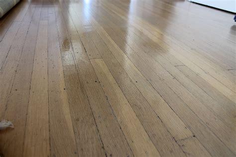 diy wood floor polish  dabblist