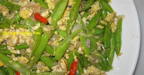 Rakik Kacang Udang Rb Readystock daun kari masakan malaysia kacang buncis goreng telur