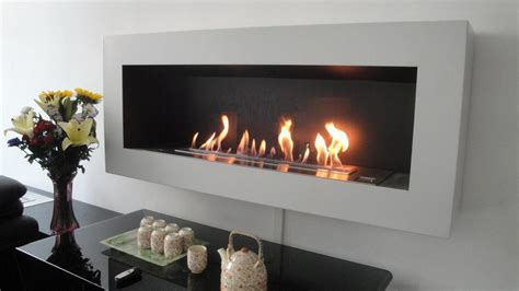 Smart ethanol fireplace with remote control amp safety detectors afire