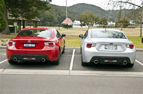 toyota   subaru brz comparison review caradvice