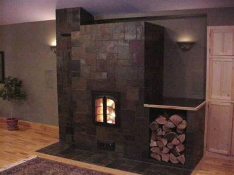 Slate Tiles For Fireplace by Slate Tile For A Fireplace The Interior Design