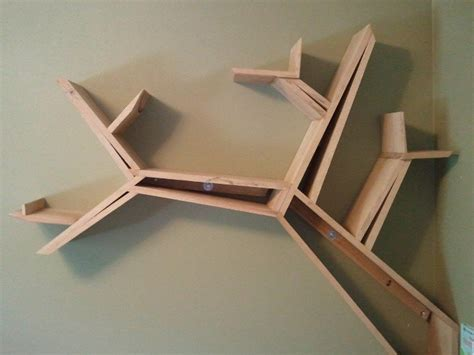 tree shaped bookshelf by powdernine lumberjocks