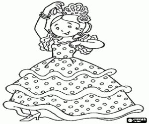 flamenco dancer coloring sheet coloring coloring pages