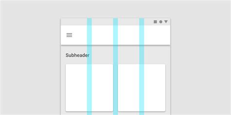 material design layout grid responsive layout grid material design
