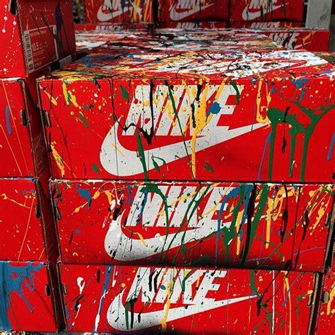 Mr Joe Handmade Shoes Pintar mr brainwash just did it custom nikes update postersandprints a graffiti