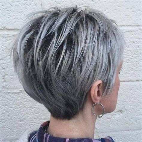 short gray hairstyles with wedge in back 52 lavish gray hair ideas you ll love hair motive hair