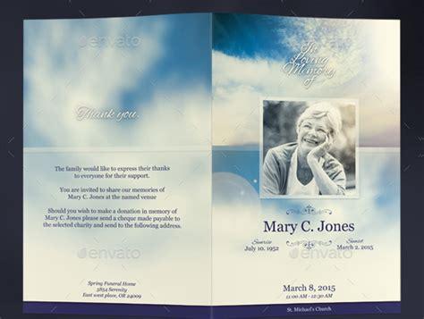 funeral services brochures  premium psd vector