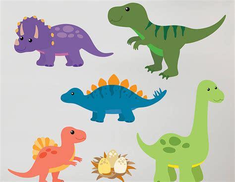 Childrens Bedroom Wall Stickers Uk children s dinosaur wall sticker set contemporary wall