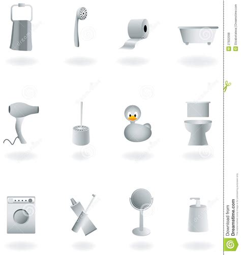 Bathroom Equipment by Bathroom Equipment Set Royalty Free Stock Photos Image