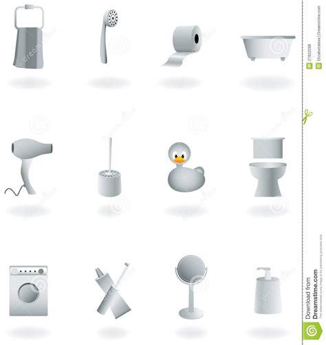 bathroom equipment bathroom equipment set royalty free stock photos image